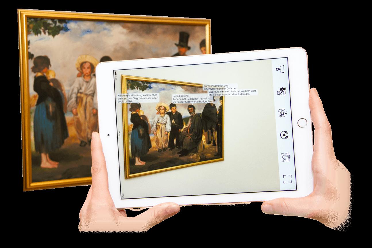 Art-Finder App - Museumsguide und Audioguide mit Bilderkennung und Objekterkennung